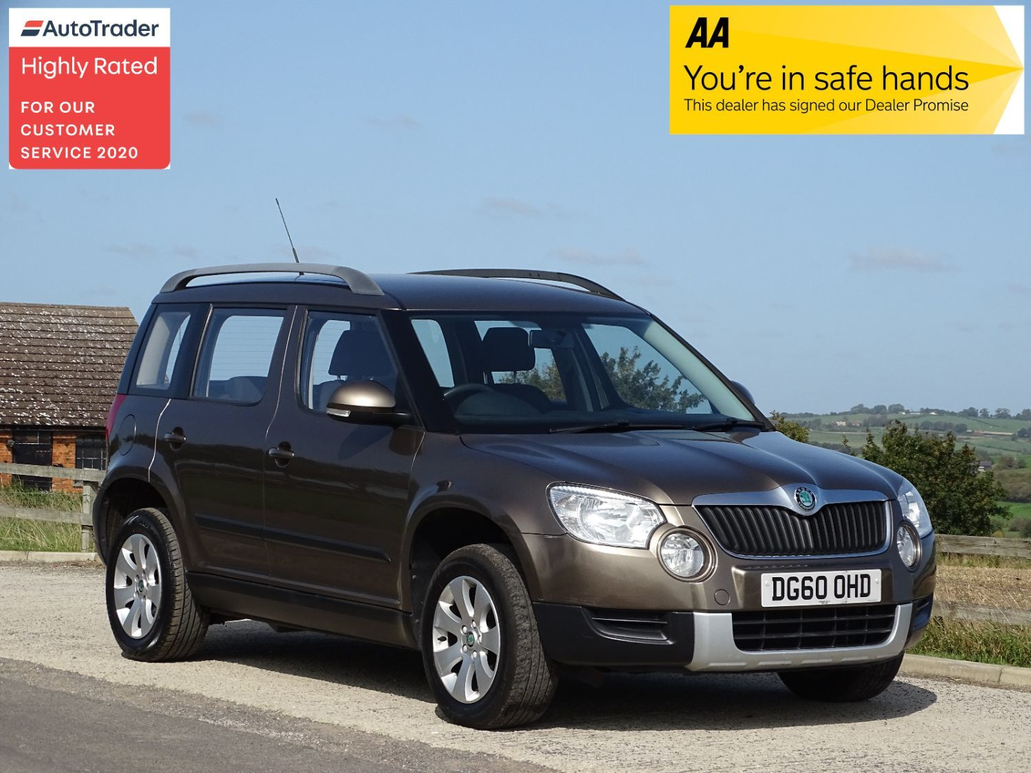 Used Skoda Yeti In Thame Buckinghamshire Carnatics Motor Company Limited